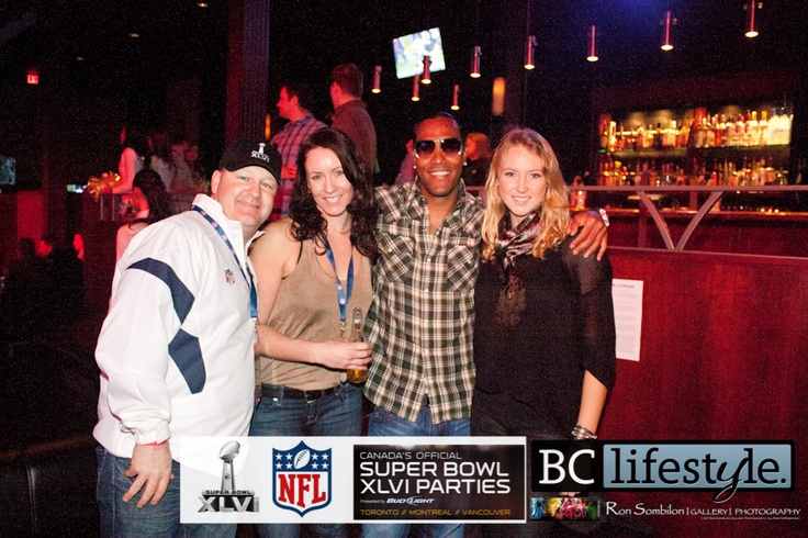 Vancouver-Seattle Seahawks Cheerleader-The Sheepdogs-Marcus Allen and TJ Houshmandzadeh