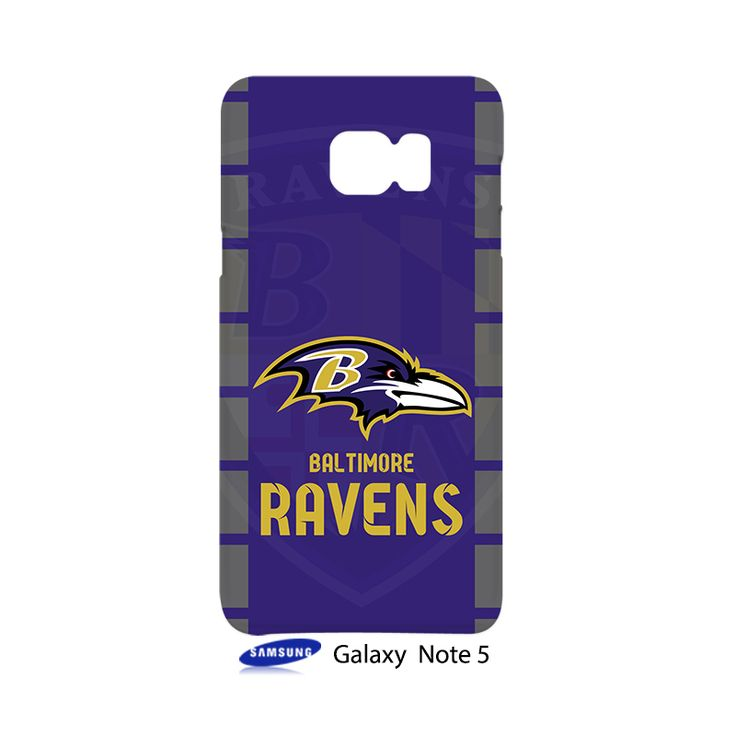 Baltimore Ravens Samsung Galaxy Note 5 Case Cover Wrap Around