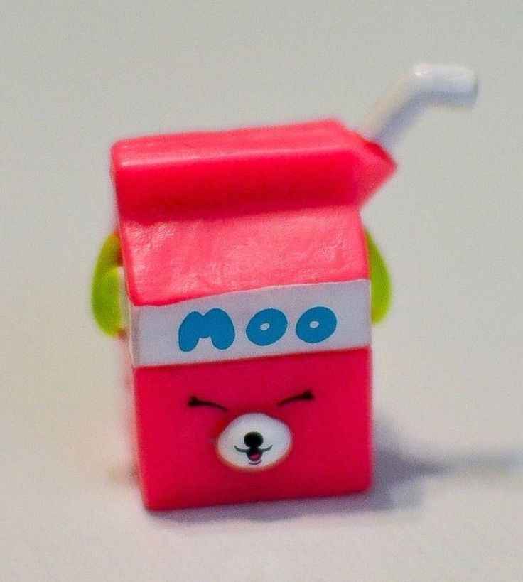 Shopkins Season 4 04 095 Milk Bud Petkins Special Edition