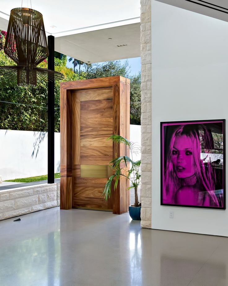 Los Angeles Ca Mid Century Modern Wood Garage Door Gate: 221 Best Images About Doors And Hardware On Pinterest