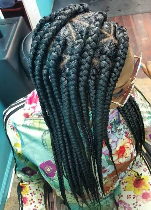 80 Best Black Braided Hairstyles That Turn Heads                              …