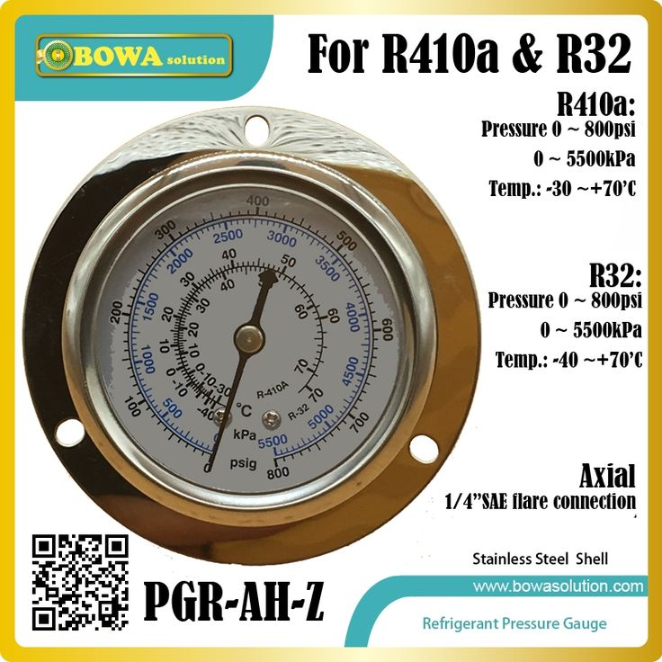11.40$  Buy here - http://alibyq.shopchina.info/1/go.php?t=32813252759 - High pressure HFC refrigerant Pressure Gauge for R410a and R32 gas installed in Heat pump, dry chamber & water temperature units 11.40$ #magazineonlinewebsite