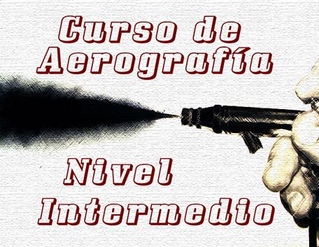 Curso de Aerografía Nivel Intermedio de 12 en Madrid. Si ya sabes usar tu aerógrafo, aprende los secretos del trabajo de luces y mucho más.