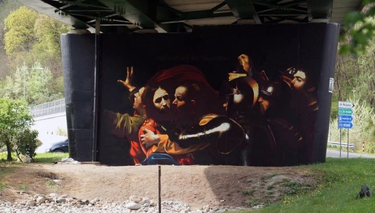 Andrea Ravo Mattoni tra street art e classicismo, intervista