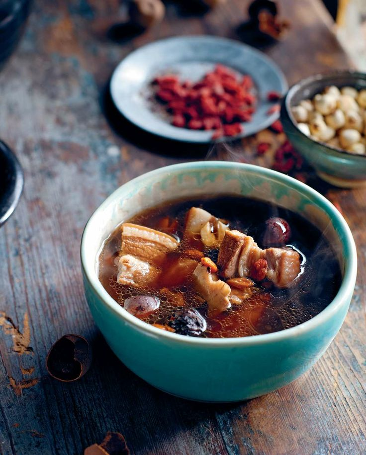 Pork spare ribs slow-braised in medicinal broth by Luke Nguyen from The Food of Vietnam | Cooked