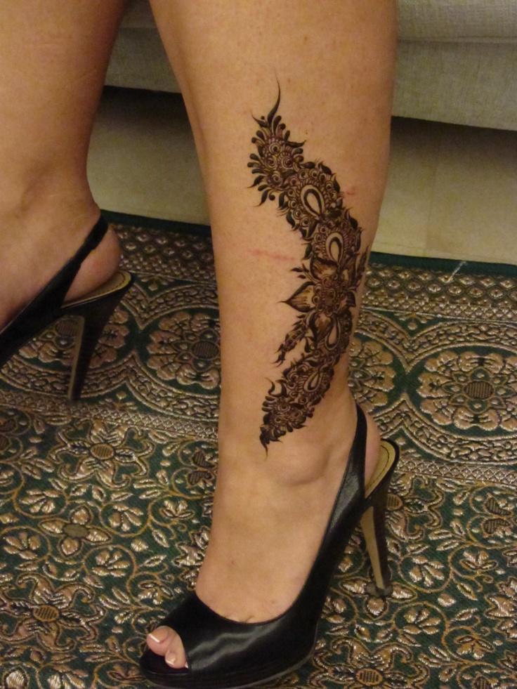 Simple Henna Designs Ankle: Ankle Design Henna