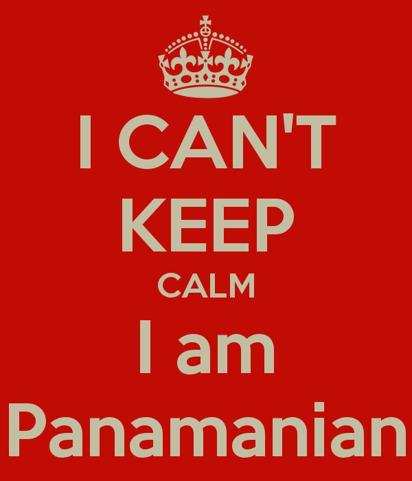I can't keep calm, I am Panamanian! ;)  LOL love it im gonna use it as an excuse
