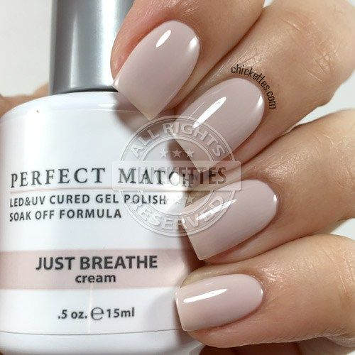 LeChat Perfect Match Just Breathe swatch by Chickettes.com
