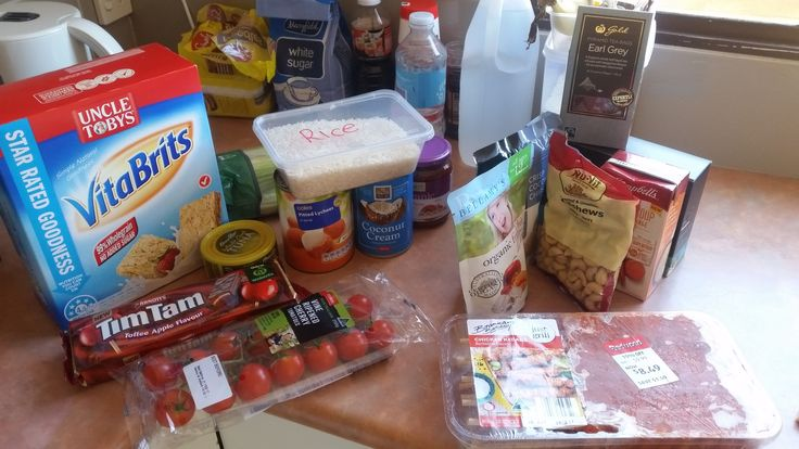 food given by Salvation Army
