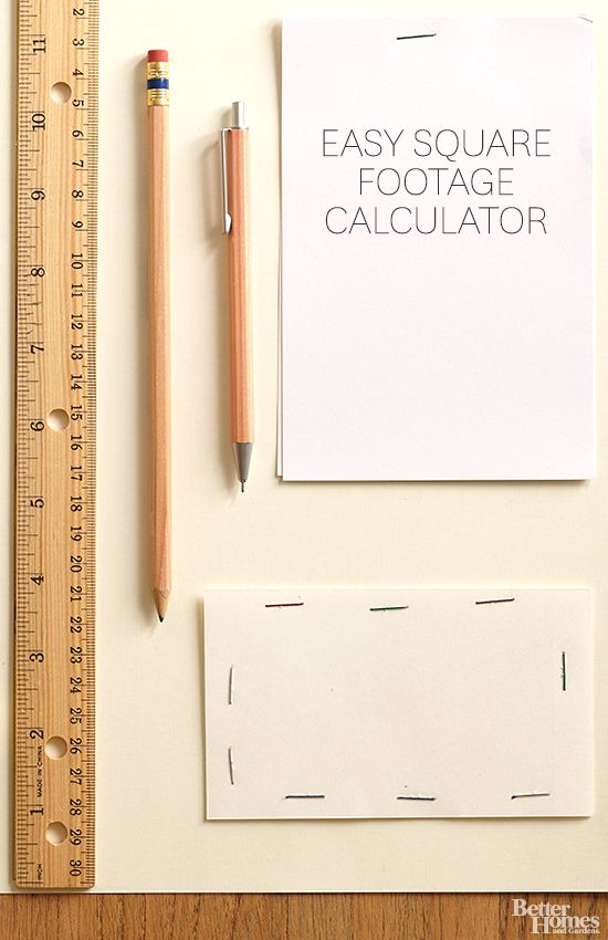 Updating your home? Make sure your measurements are accurate with our handy square footage calculator: http://www.bhg.com/home-improvement/advice/measuring-materials/square-footage-calculator/?socsrc=bhgpin112013squarefootagecalculator