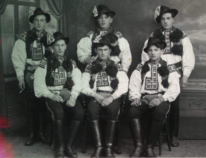 Legrúti z Drslavic a Hradčovic 1939 fotografie z musejního fotoarchivu
