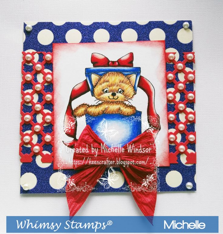 Whimsy Stamps Purrfect Gift Digi