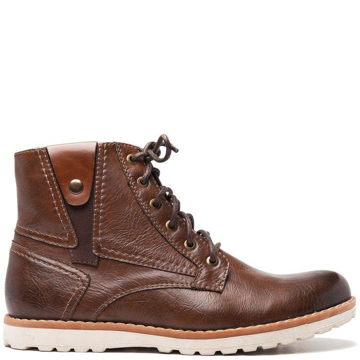 Men's brown boot