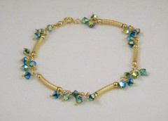 Jet AB2x Crystal Bracelet