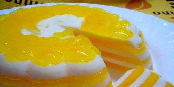 — Апельсин – 2 шт. — Молоко – 450 мл — Сахар – 200 г — Ванильный сахар – 8 г — Желатин – 20 г — Вода – 400 мл