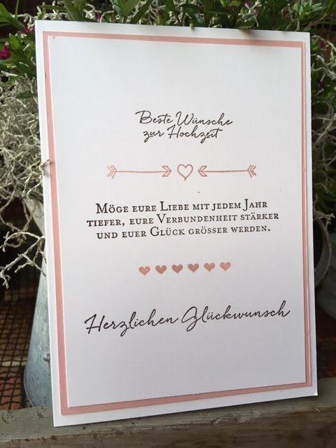 Stempelduett: Beste Wünsche zur Hochzeit