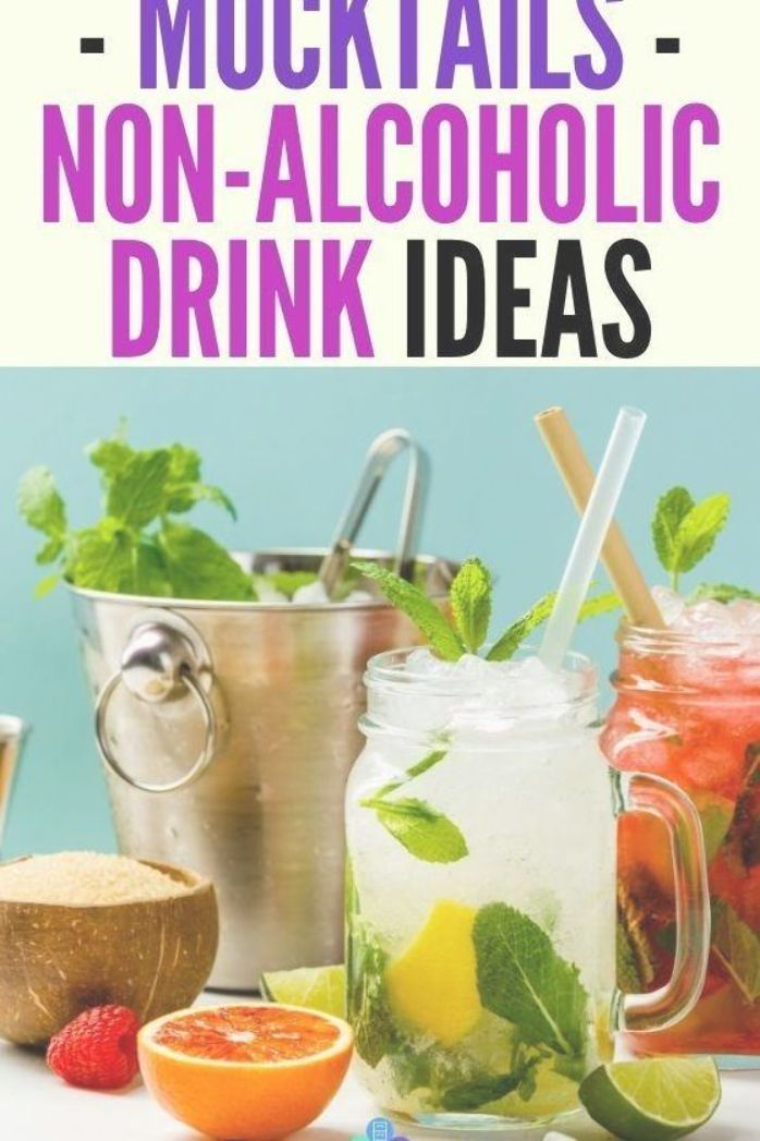 Mocktails Non Alcoholic Drink Recipe Ideas Check Out These