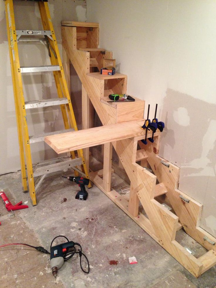 How to Build Floating Stairs - Handy Father