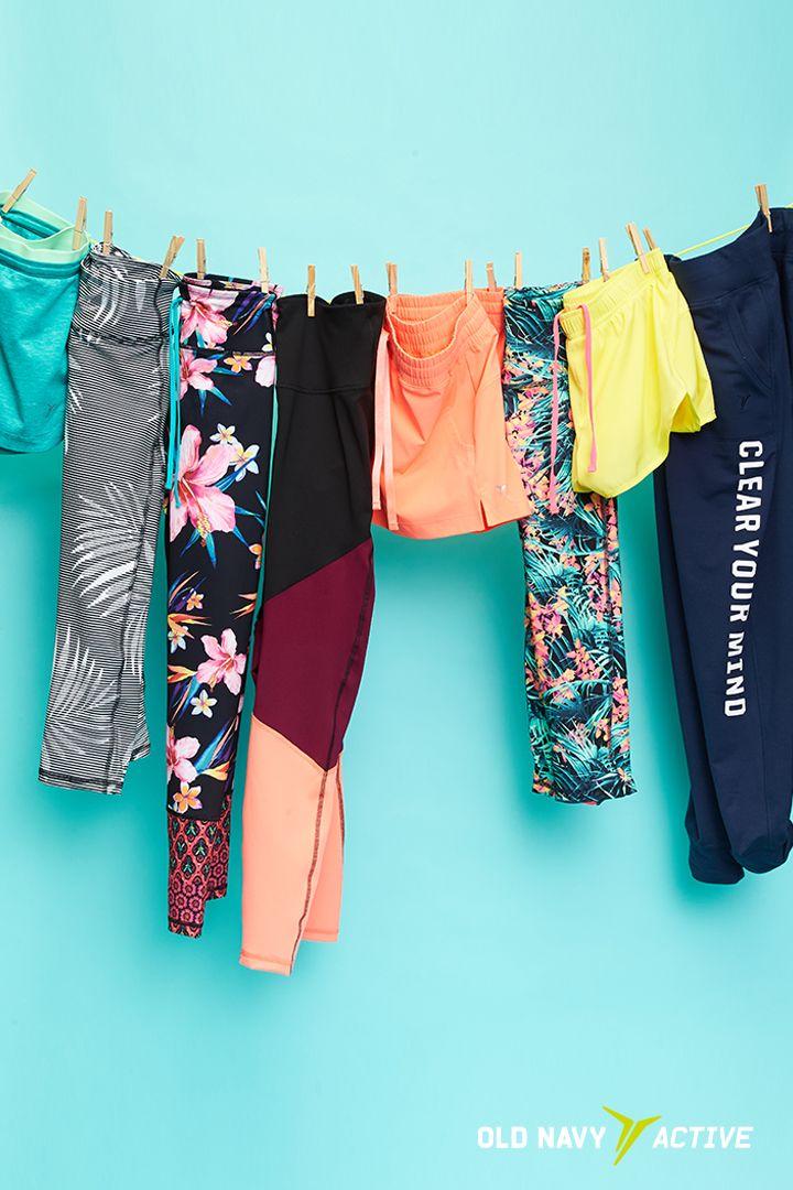 FACT: cute leggings & shorts make workouts 100000x more enjoyable.