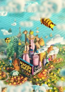 Club Fantasci reviews Waggle Dance by Grublin Games currently on #Kickstarter. Check it out here! #boardgames #bees