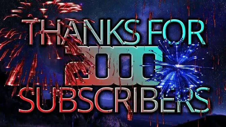 THANKS FOR 2000 SUBSCRIBERS!