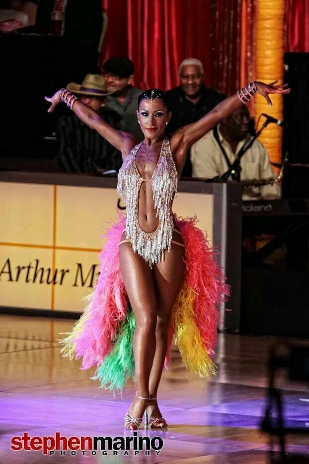 Samba tail feathers!