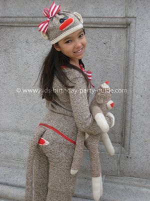 Sock Monkey Costume. (this is awesome ~Stephe)
