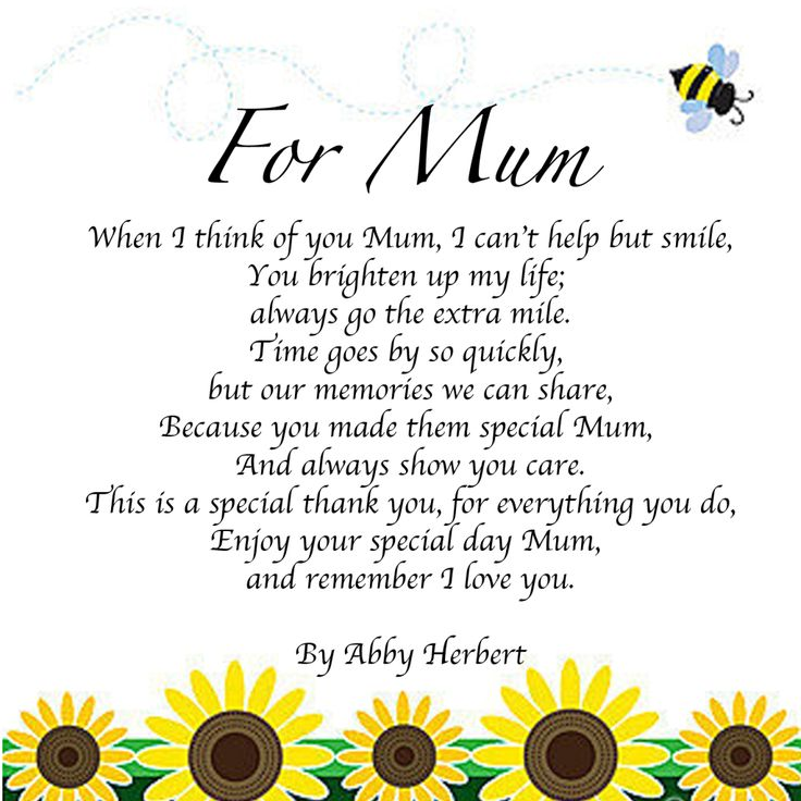 25 Mothers Day Poems To Touch Mothers Heart Mother Day
