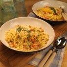 Kräftpasta med dill och citron - Recept från Mitt kök - Mitt Kök