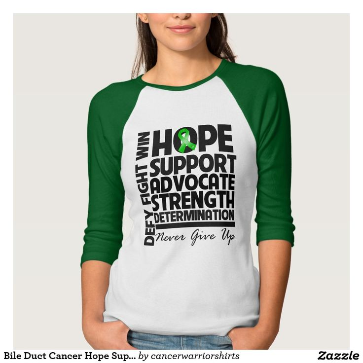 Bile Duct Cancer Hope Support Advocate Shirts