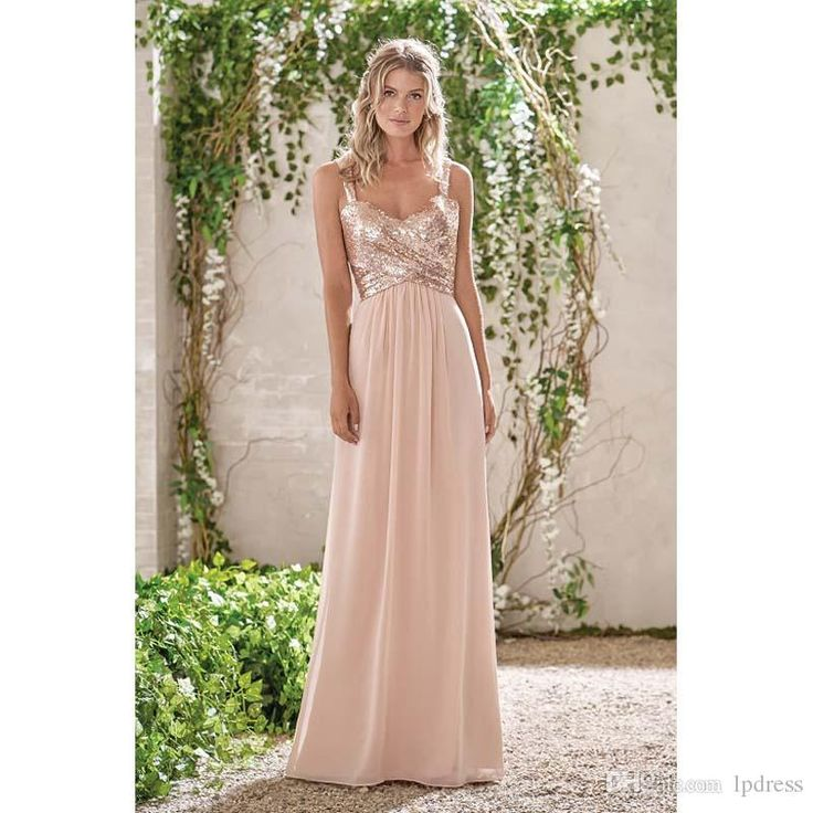 17 Best Ideas About Champagne Bridesmaid Dresses On