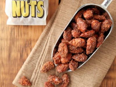 CopyCat Nuts4Nuts - Slow cooker sugared almonds (like writer found on NYC street)