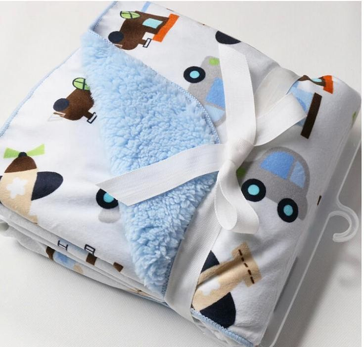 Online Cheap Children Double Thick Blanket Infant Children Baby Blanket Carter'S Baby Blanket Newborn Bedding Set Aden Anais Manta Bebe By Laozhao8481 | Dhgate.Com