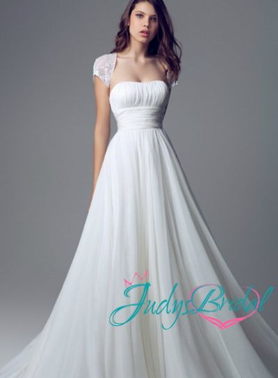 211 best something borrowed something blue images on for Cinched waist wedding dress