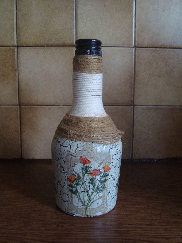 Μπουκάλι decoupage