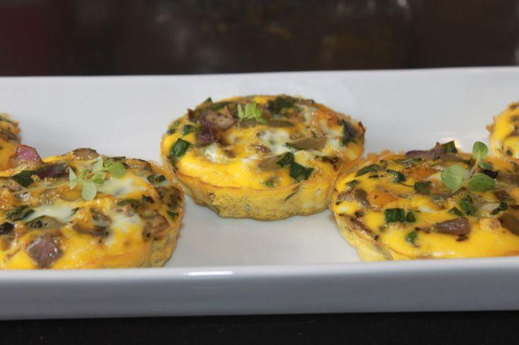 Porsjons omelett