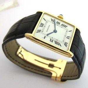 Montre CARTIER pour homme  http://www.bijoux-bijouterie.com/home/1653-horlogerie-cartier-montre-cartier-110.html/ #montre #vintage