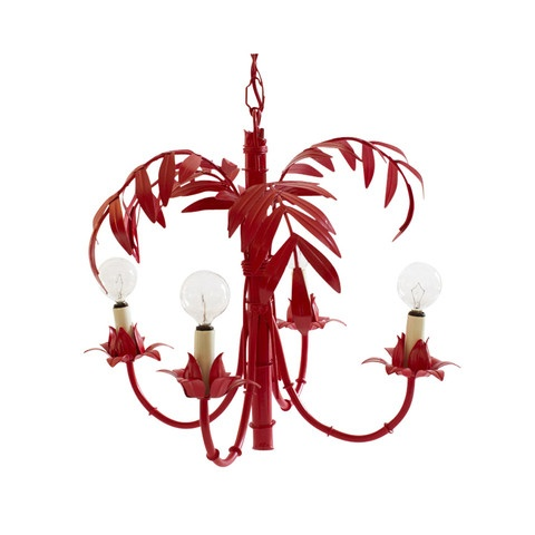 Red Leaf Chandelier