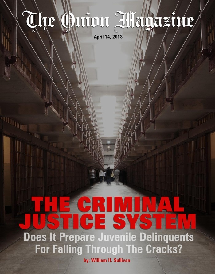The Criminal Justice System: Does It Prepare Juvenile Delinquents For  Falling Through The Cracks?