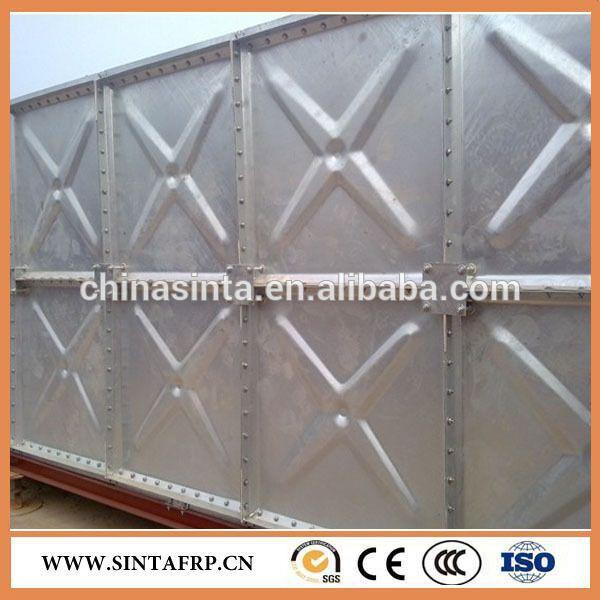 Galvanized Steel Storage Water Tank Steel Water Tanks Steel Panels Water Tank
