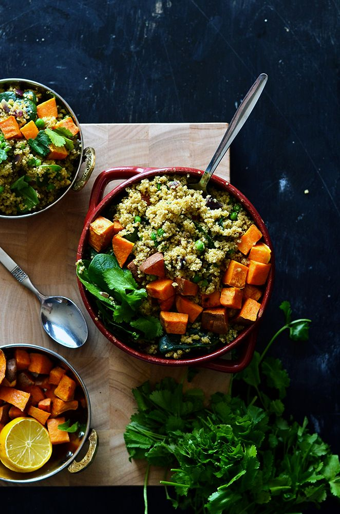 Leftover Quinoa Indian Pilaf   The Hungry Herbivores  Reduce your food waste!