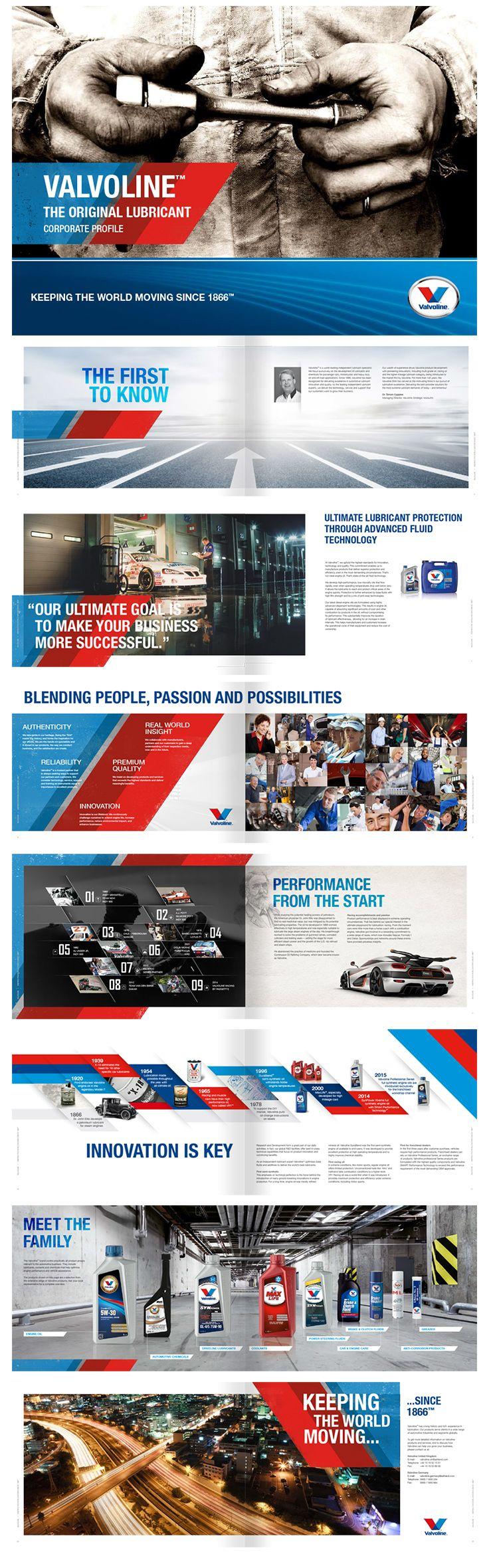 Valvoline Corporate brochure