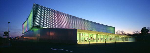 Le Prisme Multipurpose Hall | Brisac Gonzalez Architects | Archinect