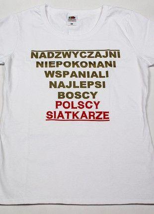 Kup mój przedmiot na #vintedpl http://www.vinted.pl/damska-odziez/t-shirty/21268144-biala-koszulka-sercemzsiatkarzami-polscy-siatkarze