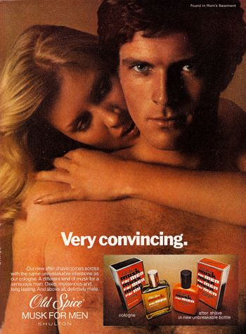 1979 ad for Old Spice Musk