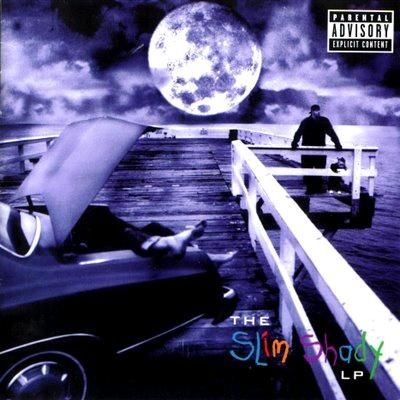 Eminem, The Slim Shady LP: Rocks Bottoms, Album Covers, Slim Shady, Hiphop, Hip Hop, Favorite Album, Album Art, Shady Lp, 15 Years