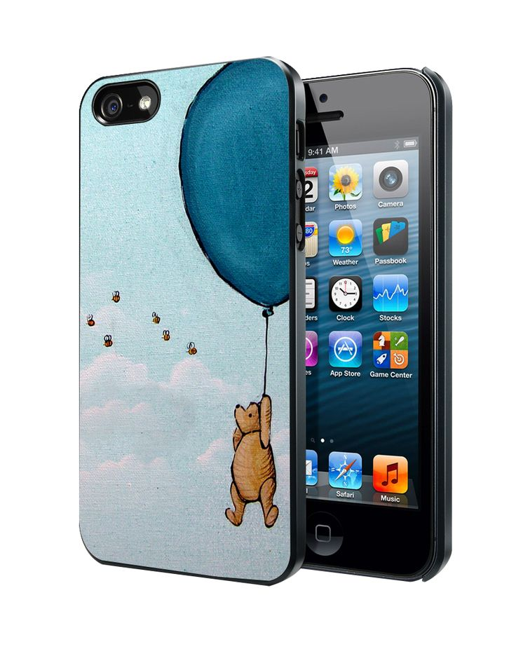 Vintage Winnie the Pooh balloon Samsung Galaxy S3/ S4 case, iPhone 4/4S / 5/ 5s/ 5c case, iPod Touch 4 / 5 case