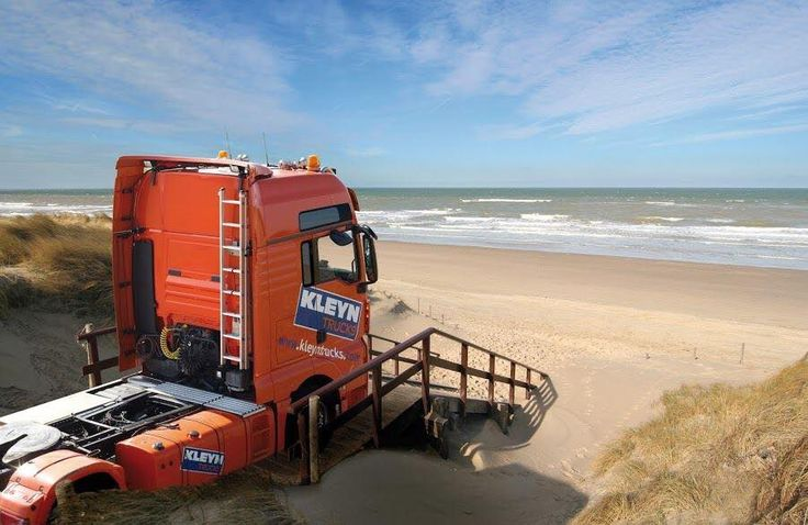 Truck with sea view. ;-)