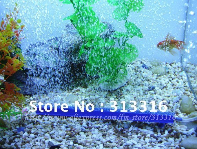 Free shipping,10Inch/25CM Aquarium Bubble-Wall, Air Diffusers for Aquariums,Aqua Mist,Aquarium Ornaments,Air stone,Air pump