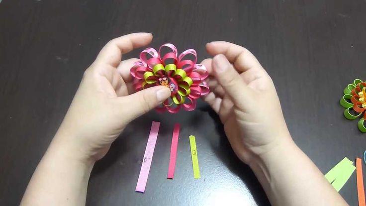Manualidades y accesorios la hormiga.  flor en cintas. v. 182